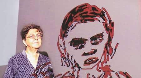 Nalini Malani, Nalini Malani art, Nalini Malani art exhibition, Max Mueller Bhavan, Max Mueller Bhavan mumbai, mumbai news