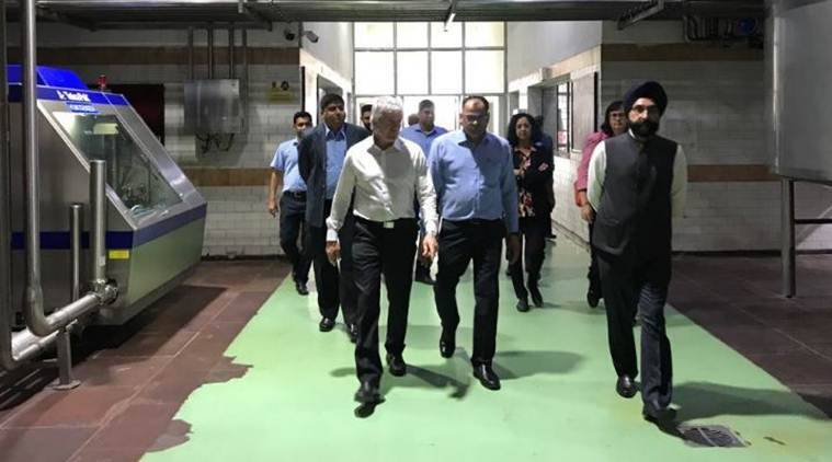 india rcep, india refuses to join rcep, new zealand minister visits amul corporation, new zealand minister in ahmedabad, Damien O'Connor
