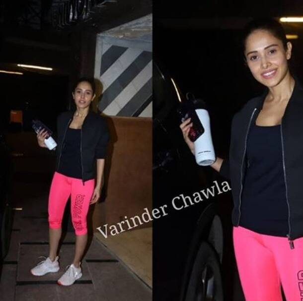 gym looks, gym wear, malaika arora latest photos, janhvi kapoor latest photos, shahid kapoor latest photos, parineeti chopra latest photos, celeb fashion, lifestyle