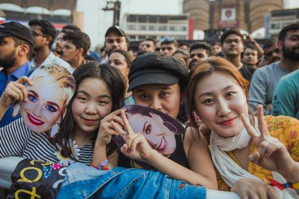 OnePlus Music Festival katy perry