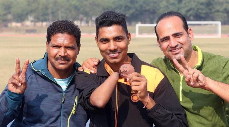 After bagging bronze in Dubai, emotional homecoming for Tricity para athlete Nishad Singh