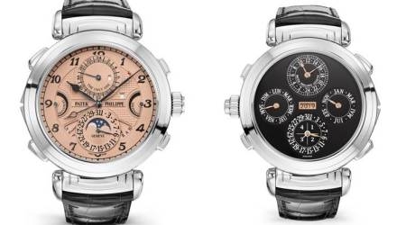 Patek Phillipe, Patek Phillipe watches, Patek Phillipe watch, Christie's auction, Patek Phillipe Grandmaster Chime, Only Watch, World news, Indian Express