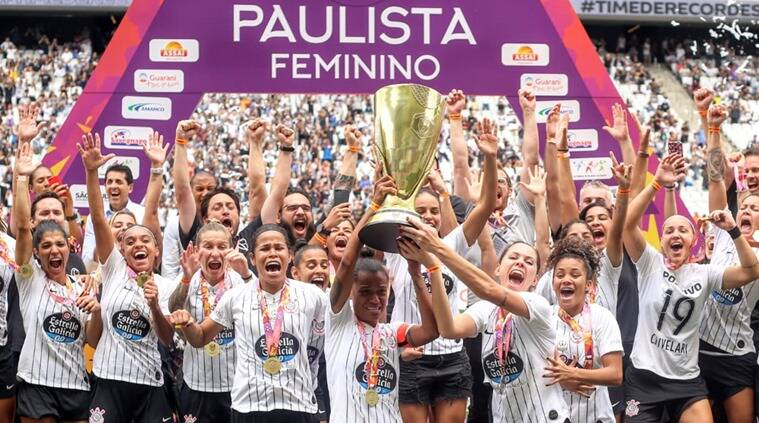 Different score displayed during Brazil women's football final to protest pay gap