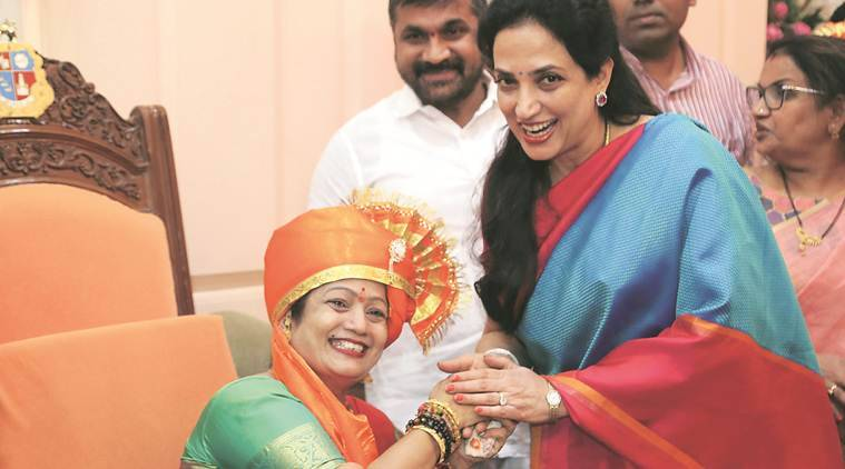 Mumbai: Kishori Pednekar elected BMC mayor, says pothole-free roads priority