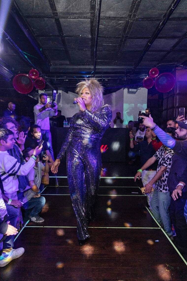 queer community, delhi pride parade, lgbtq, peppermint, drag queen, what is drag culture, who is a drag queen, kitty su drag queen performance, indian express, lifestyle
