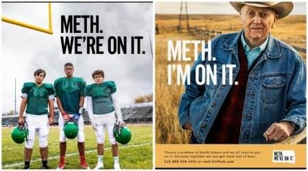 South Dakota's anti-drug campaign