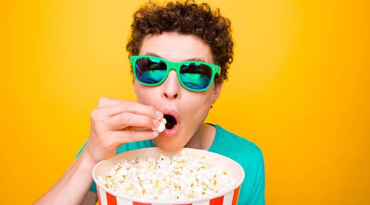 popcorn, health benefits, indian express news
