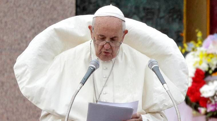Pope in Nagasaki: No to atomic weapons, deterrence doctrine