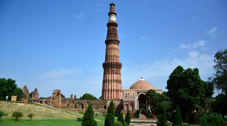 What is the length of Qutub Minar