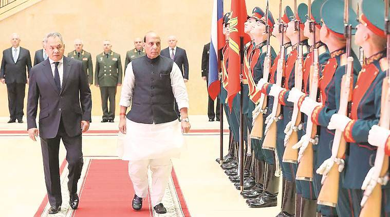 rajnath singh, rajnath singh in russia, rajnath singh defence minister, oem russia, Russian Defence Industry, india russia relations