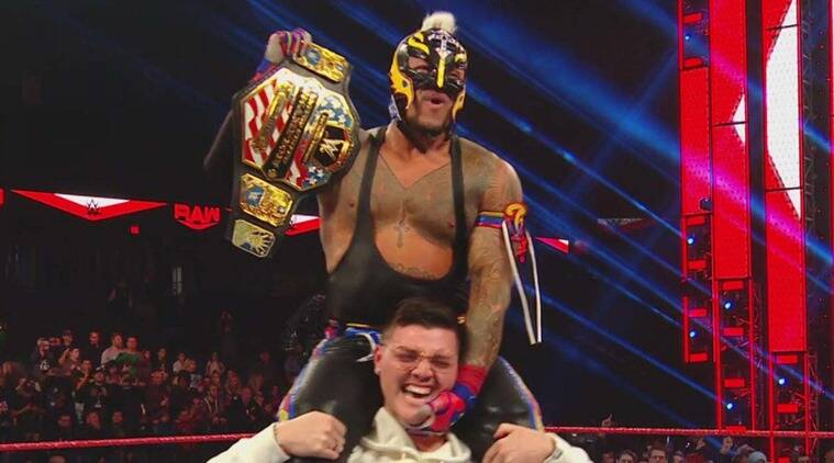 Image result for rey mysterio us champion