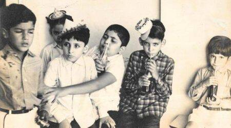 rishi kapoor childhood photos