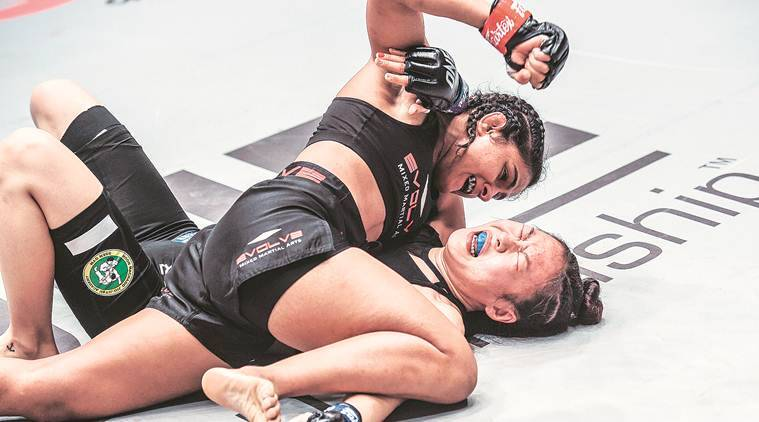 Ritu earns dominant win in MMA debut