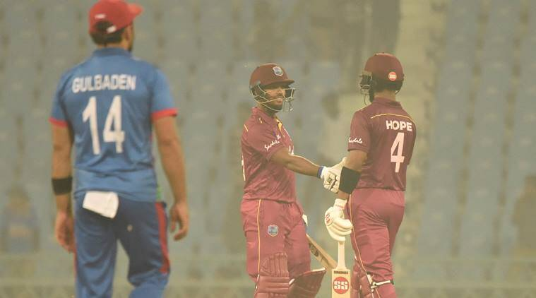 Roston Chase leads West Indies to 7-wicket win over Afghanistan