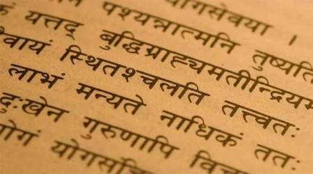 Sanskrit language, Sanskrit in India, India Sanskrit Pandits, Sanskrit endangered language, indian express