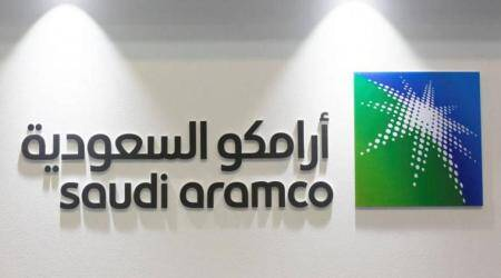 Saudi Aramco shares open 10% lower as the oil price crumbles