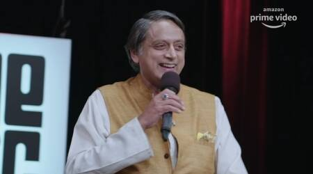 one mic stand review shashi tharoor