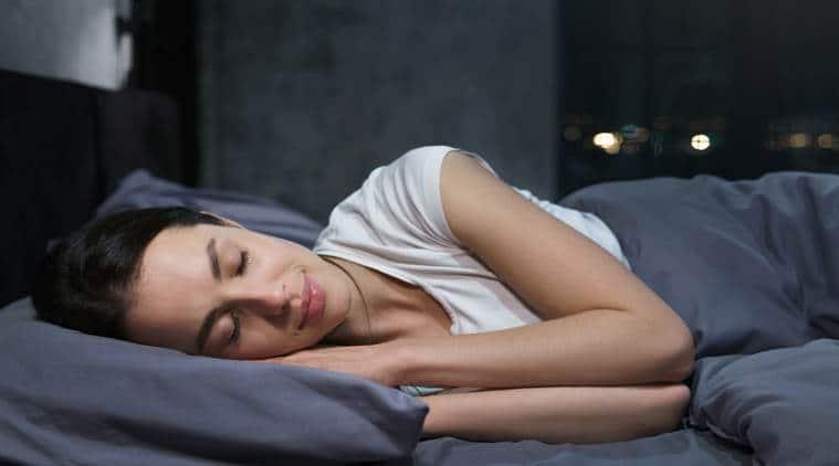 sleeping, benefits, binge eating, indian express, indian express news