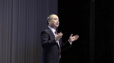 softbank, softbank loss, japan softbank, japanese technology company loss, indian express, Masayoshi Son, softbank uber, wework