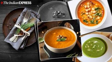 Spinach Soup recipe, carrot ginger soup, indianexpress.com, indianexpress, Italian Style Chickpea Soup, soup recipes, how to make soups, winter food, healthy soup recipes, winterrecipes, food, comfort food,