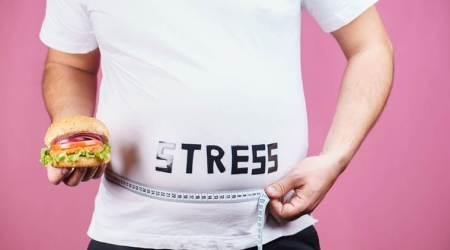 stress belly, stress, health, indian express, indian express news