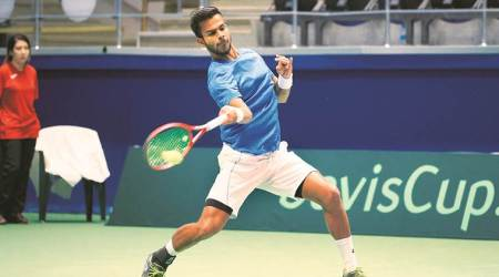 Davis Cup, Davis Cup Pakistan, Davis Cup India, Davis Cup India vs Pakistan, India vs Pakistan, India vs Pakistan Davis Cup, Sports news, Indian Express