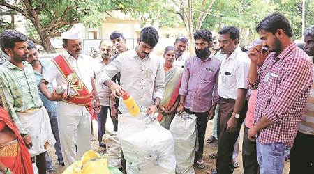 In Mulugu — collect 1 kg plastic waste, get 1 kg rice