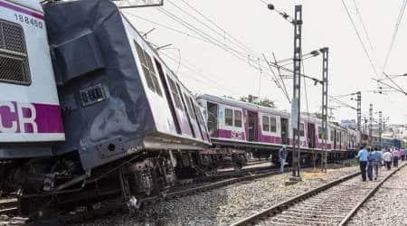 hyderabad train accident, hyderabad train collision, mmts train accident hyderabad, indian express news