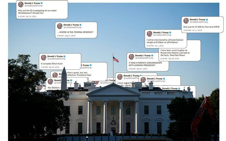 Donald Trump, Donald Trump Twitter, Donald Trump Twitter handle, Donald Trump tweet, Trump tweets, Trump's Twitter, US President, US raids on Syria, Trump on ISIS, World news, Indian Express