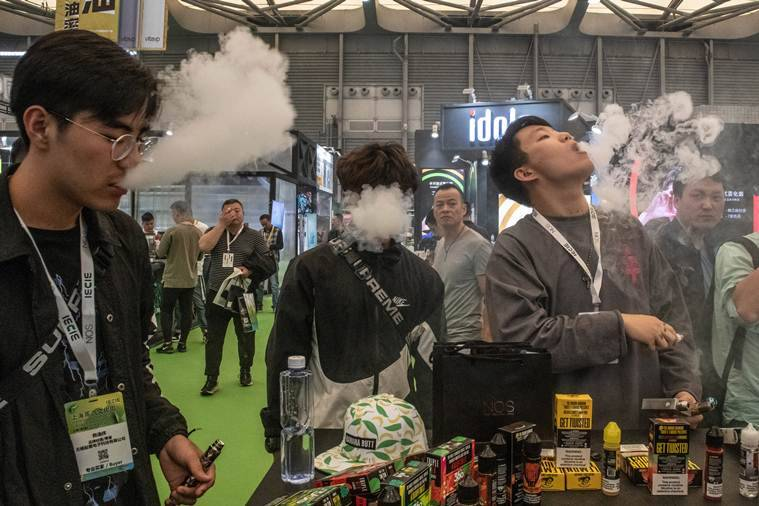 Vaping, Vaping in China, Vaping in India, China government on vaping, Vaping China, China vaping, e-cigarettes, e-cigarettes China, e-cigarettes India, World news, Indian Express