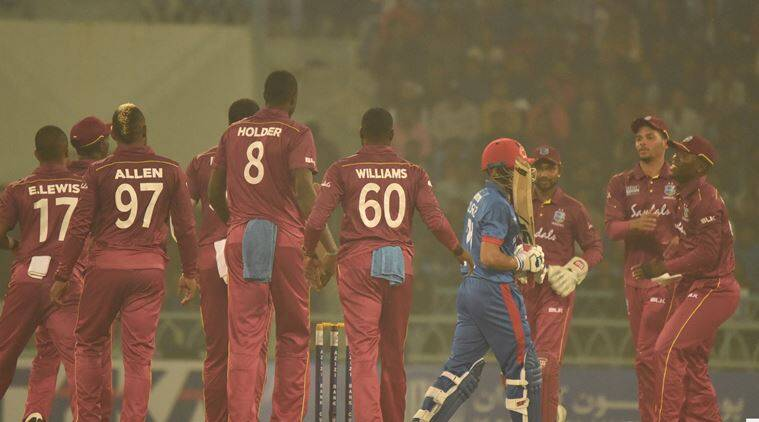 West indies beats afghanistan by 30 runs in 1st t20