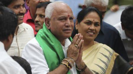 Yediyurappa, bs Yediyurappa, b s Yediyurappa, Deve Gowda, hd Deve Gowda, h d Deve Gowda, Deve Gowda has not phoned Yediyurappa, indian express news, karnataka news