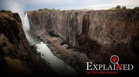 Victoria falls, Victoria falls drought, Victoria falls water quantity, Victoria falls UNESCO, Zimbabwe, Zimbabwe drought