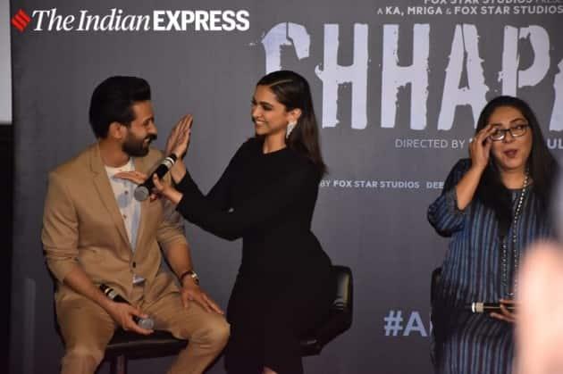 Chhapaak trailer launch: Deepika Padukone gets teary-eyed ...