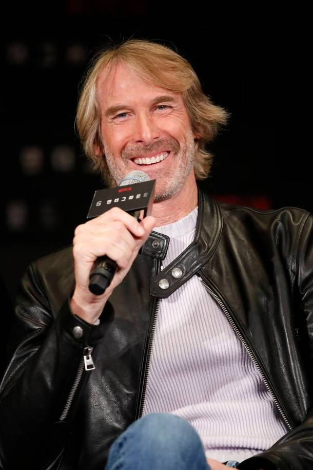 6 Underground press conference michael bay
