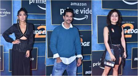 Vivek Oberoi, Sayani Gupta, Angad Bedi and others attend Inside Edge 2 screening