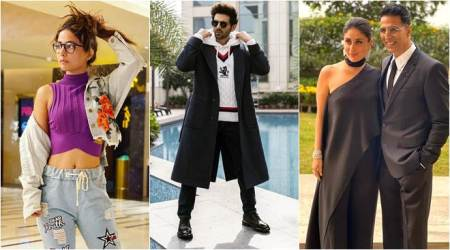 Celebrity social media photos: Akshay Kumar, Hina Khan, Kartik Aaryan and others