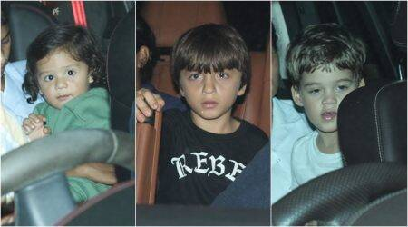 AbRam, Yash, Roohi and Misha attend Rani Mukerji's daughter Adira Chopra's birthday bash