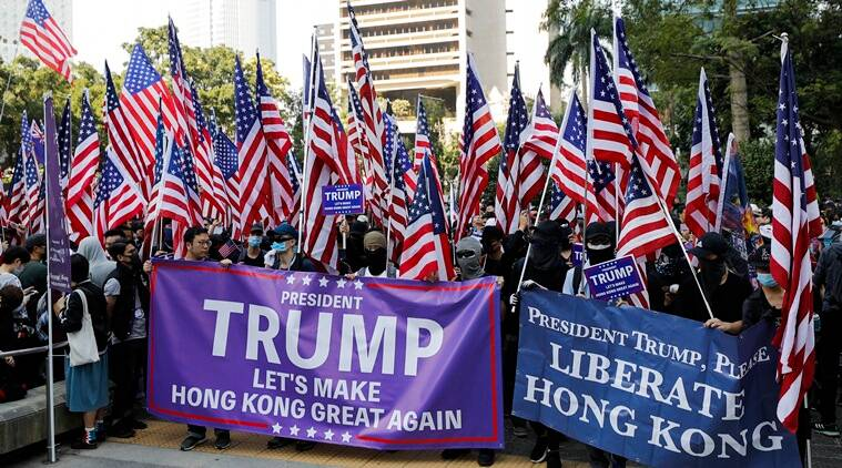 Hong Kong protests, Hong Kong US law, Hong Kong Donald Trump, Donald Trump On Hong Kong protests,