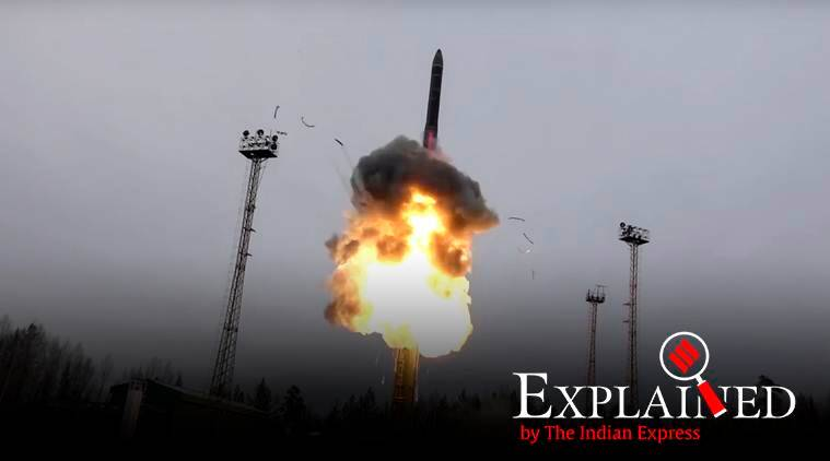 Avangard hypersonic missile, Russia missile, Russia Avangard hypersonic missile, Russia defense system, Russia Defence system, Vladimir Putin, Express Explained