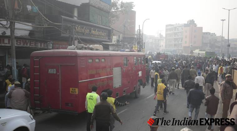 Anaj Mandi blaze: List of fire accidents in Delhi NCR