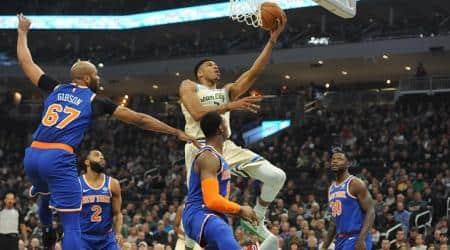 Giannis Antetokounmpo, Milwaukee Bucks vs Detroit Pistons, Orlando Magic vs Phoenix Suns, Boston Celtics vs Miami Heat, Utah Jazz vs Los Angeles Lakers, NBA 2019