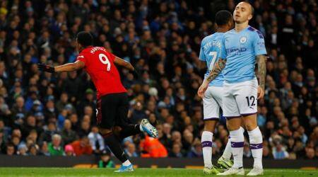 Manchester United vs Manchester City, Manchester City vs Manchester United highlights, Anthony Martial, Manchester United beat Manchester City, Manchester Derby, EPL 2019, football news