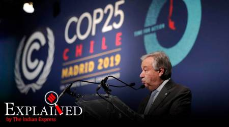 United Nations COP Madrid, COP 25 Climate change conference, Climate Change UN, UN Climate change conference, indian express explained