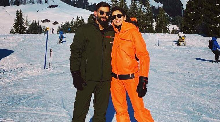 Virat Kohli, Anushka Sharma enjoy white Christmas in Switzerland