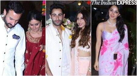 Armaan Jain's roka ceremony: Kareena-Saif, Rishi-Neetu and others arrive