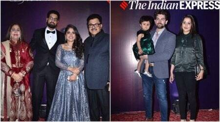 Rajkumar Hirani, Anu Malik, Anubhav Sinha attend Ashoke Pandit's daughter's reception