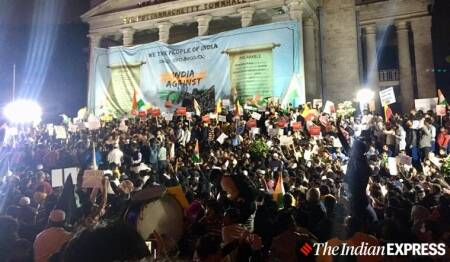 Bangalore-CAA-protests-Town-Hall-night