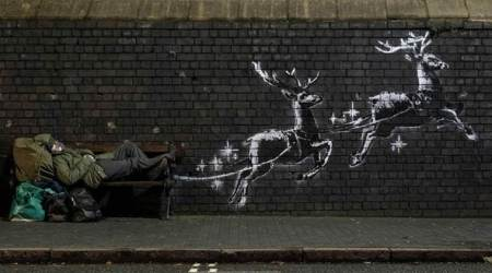 Banksy video art Birmingham
