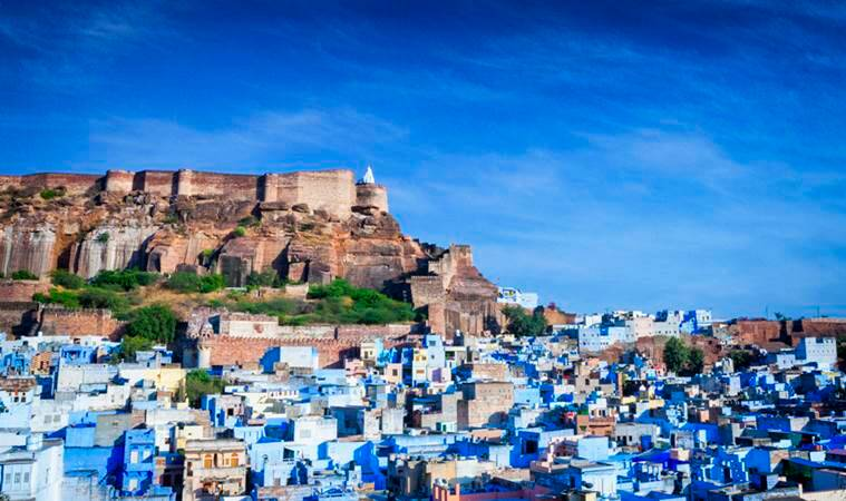 winter blues, places to see in winter, Jodhpur, Indian Express news